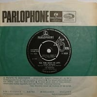 All You Need Is Love single by The Beatles from 1967