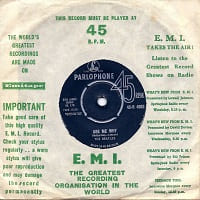 Ask Me Why/Please Please Me - Beatles single from 1963