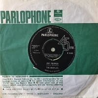 Day Tripper Single - The Beatles 1965 - double A-side with We Can Work It Out