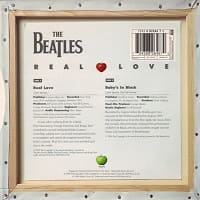 Real Love/Baby's In Black single from 1996