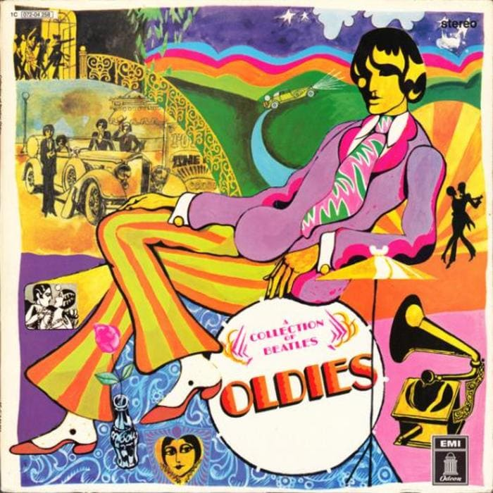 A Collection Of Beatles Oldies Compilation Album 1966 - But Goldies!