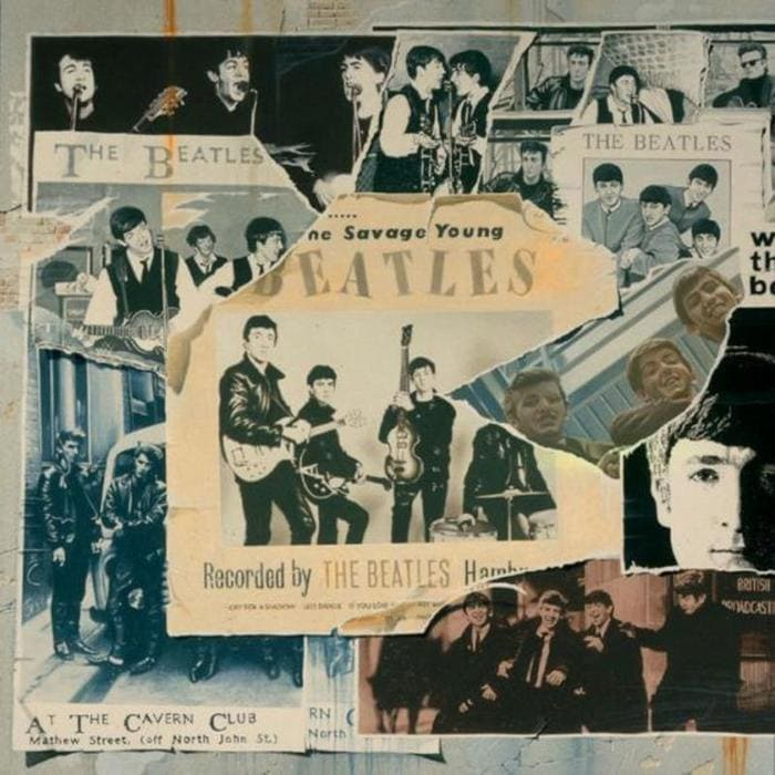 The Beatles Anthology 1 album cover - Cavern Club and public forum