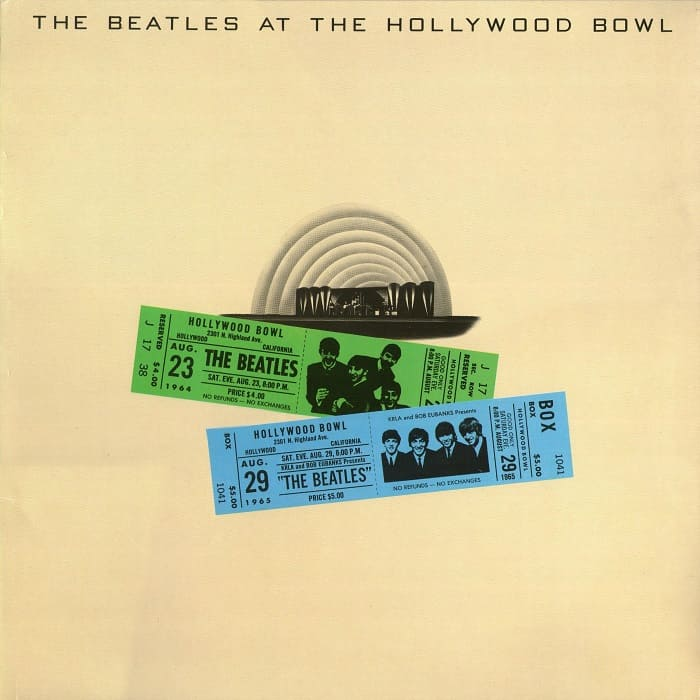 The Beatles At The Hollywood Bowl - live album from 1977 - Cavern Club and Forum
