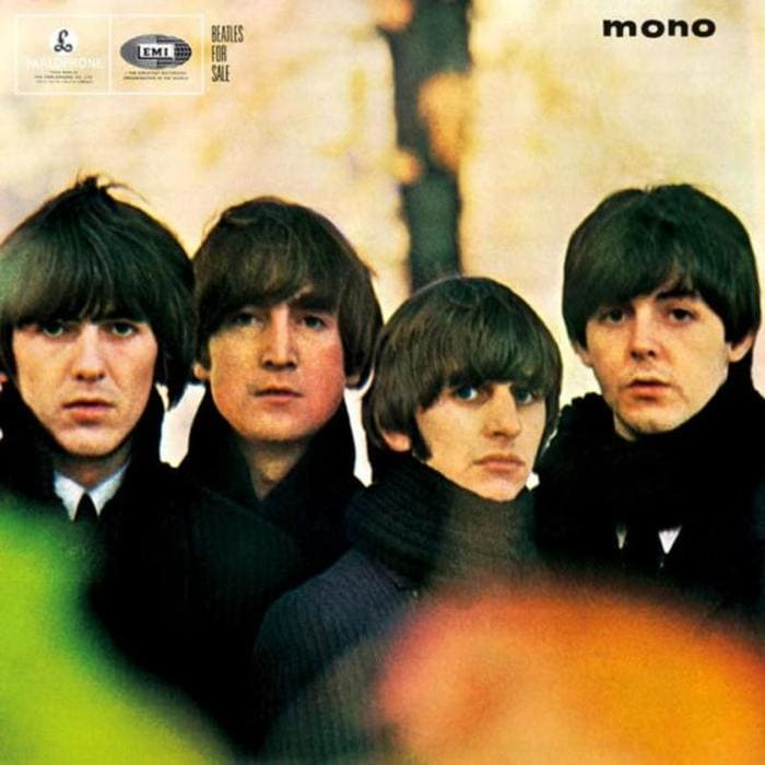 Beatles For Sale Album - Sleve & Full Track Listing and Cover Art