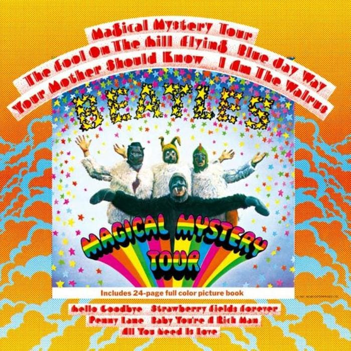 Magical Mystery Tour album by The Beatles at the Cavern Club