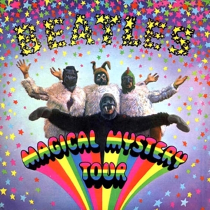 Magical Mystery Tour EP UK release (1967)