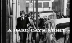 Beatles Films - A Hard Day's Night Movie
