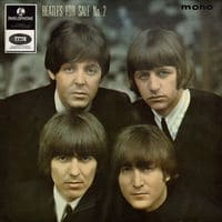 Beatles for Sale No. 2 EP - I'll Follow the Sun, Baby's in Black, Words of Love and I Don't Want to Spoil the Party