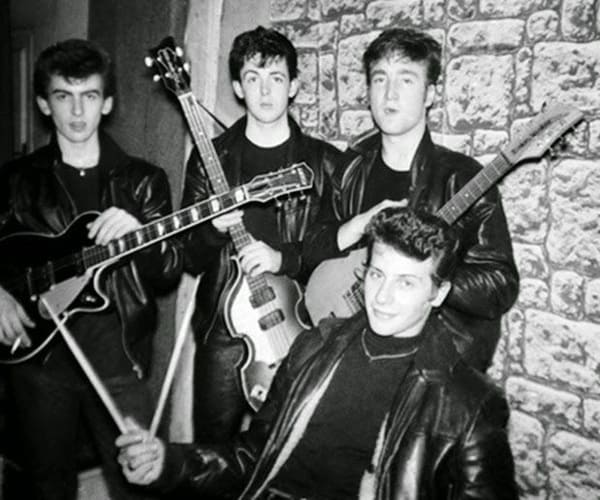 Beatles in Hamburg with drummer, Pete Best - Cavern Club and Fab Four Forum