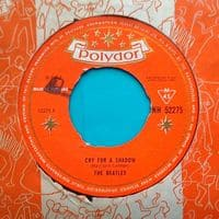 Cry for a Shadow - The Beatles with Tony Sheridan - single record