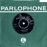 From Me To You single by The Beatles