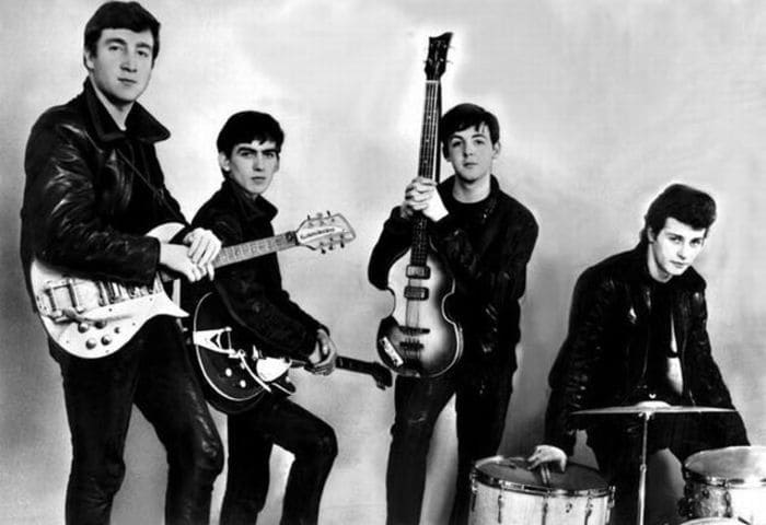 George Harrison in The Quarrymen - Beatles Forum and Cavern Club