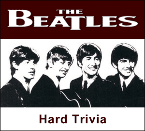 The Beatles Quiz - Hard Fab Four Trivia at the Cavern Club and Forum