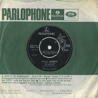 Hello, Goodbye - A-side of the Beatles' single - B-side was I Am The Walrus