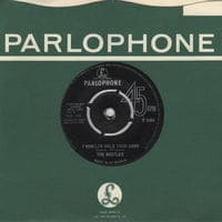I Want To Hold Your Hand - Beatles' single record from 1963