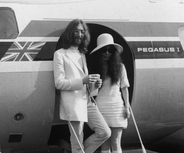 John Lennon and Yoko Ono Marry in Gibralta - Beatles Forum and Cavern Club