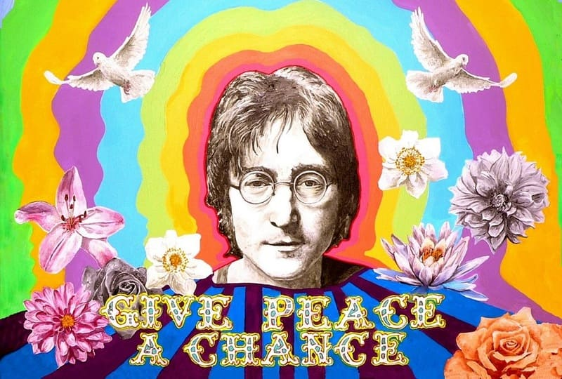 John Lennon - Give Peace A Chance - Beatles Forum and Cavern Club