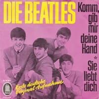 Komm, Gib Mir Deine Hand / Sie Liebt Dich German Record By The Beatles