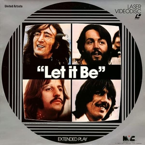 Let It Be Film on Laser Videodisc - The Beatles Cavern Club and Fab Four Forum