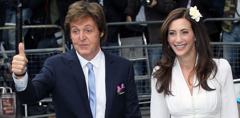 Paul McCartney and Nancy Shevell married - Beatles Forum and Caven Club