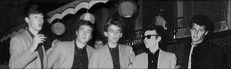 Quarrymen with Stuart Sutcliffe - The Beatles Forum and Cavern Club