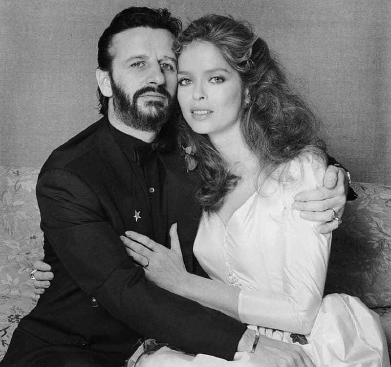 Ringo Starr and Barbara Bach - Beatles Forum and Cavern Club