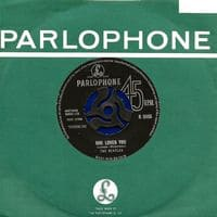 She Loves You 1963 Single Record By The Beatles