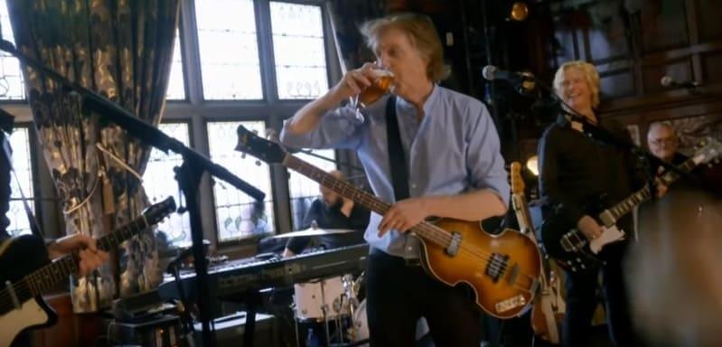 Paul McCartney Carpool Karaoke - pub - cheers Liverpool