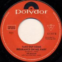 Take Out Some Insurance On Me, Baby - If You Love Me - Beatles - Tony Sheridan and The Beat Brothers