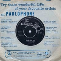 Thank You Girl - Beatles' B-side - From Me To You