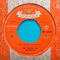 Why (Can't You Love Me Again) - Tony Sheridan & The Beatles' single