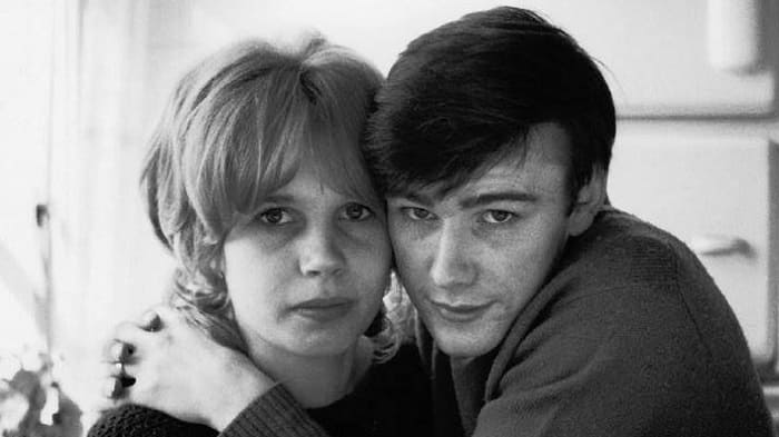 Astrid Kirchherr and Stuart Sutcliffe engaged in Germany