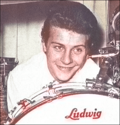 Pete Best - Beatles' Drummer aka The Quarrymen - colour image